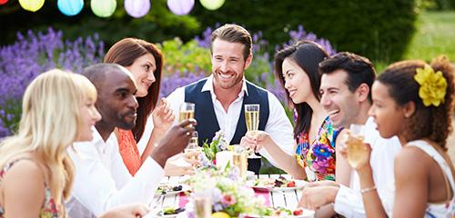 brunch et buffet de mariage